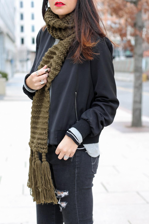 bomber jacket winter