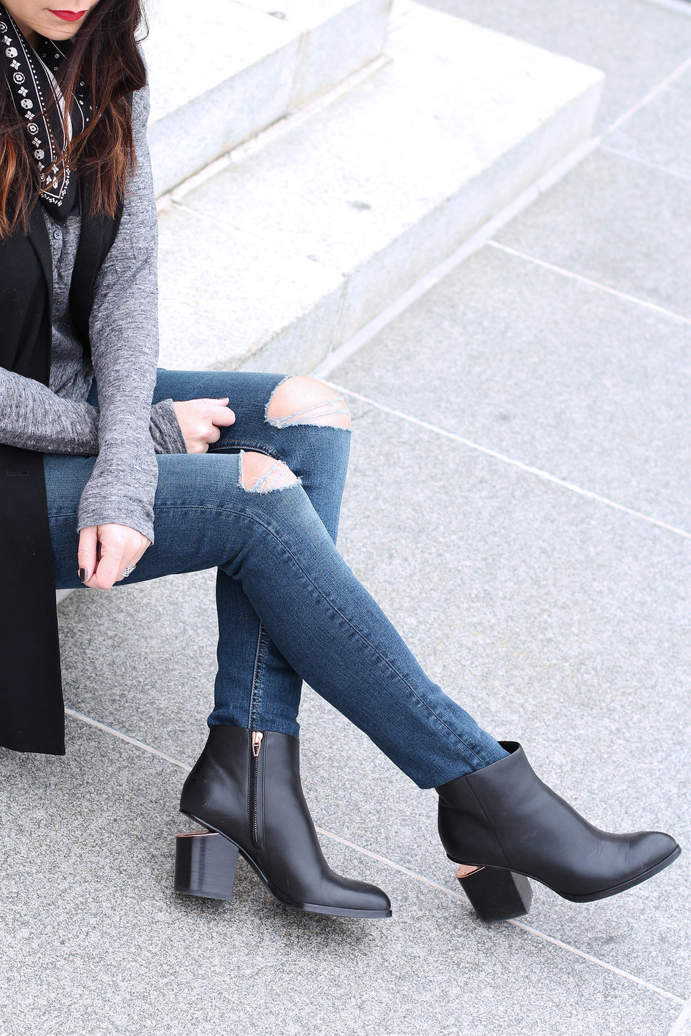Alexander Wang Boots, Rag and Bone Jeans