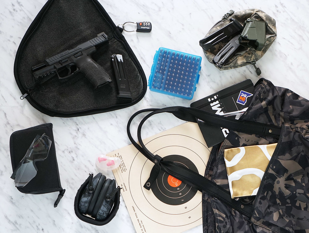 what to bring to the shooting range