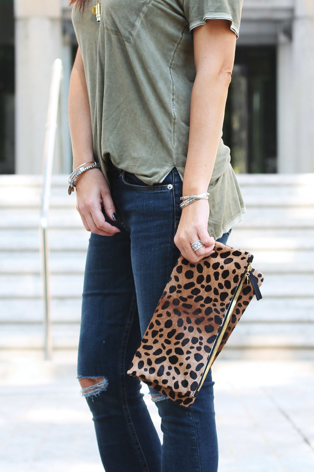 Animal Print, Leopard Print Clutch