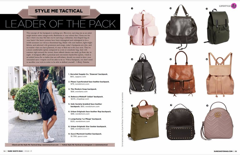 Style Me Tactical Sure Shots Magazine