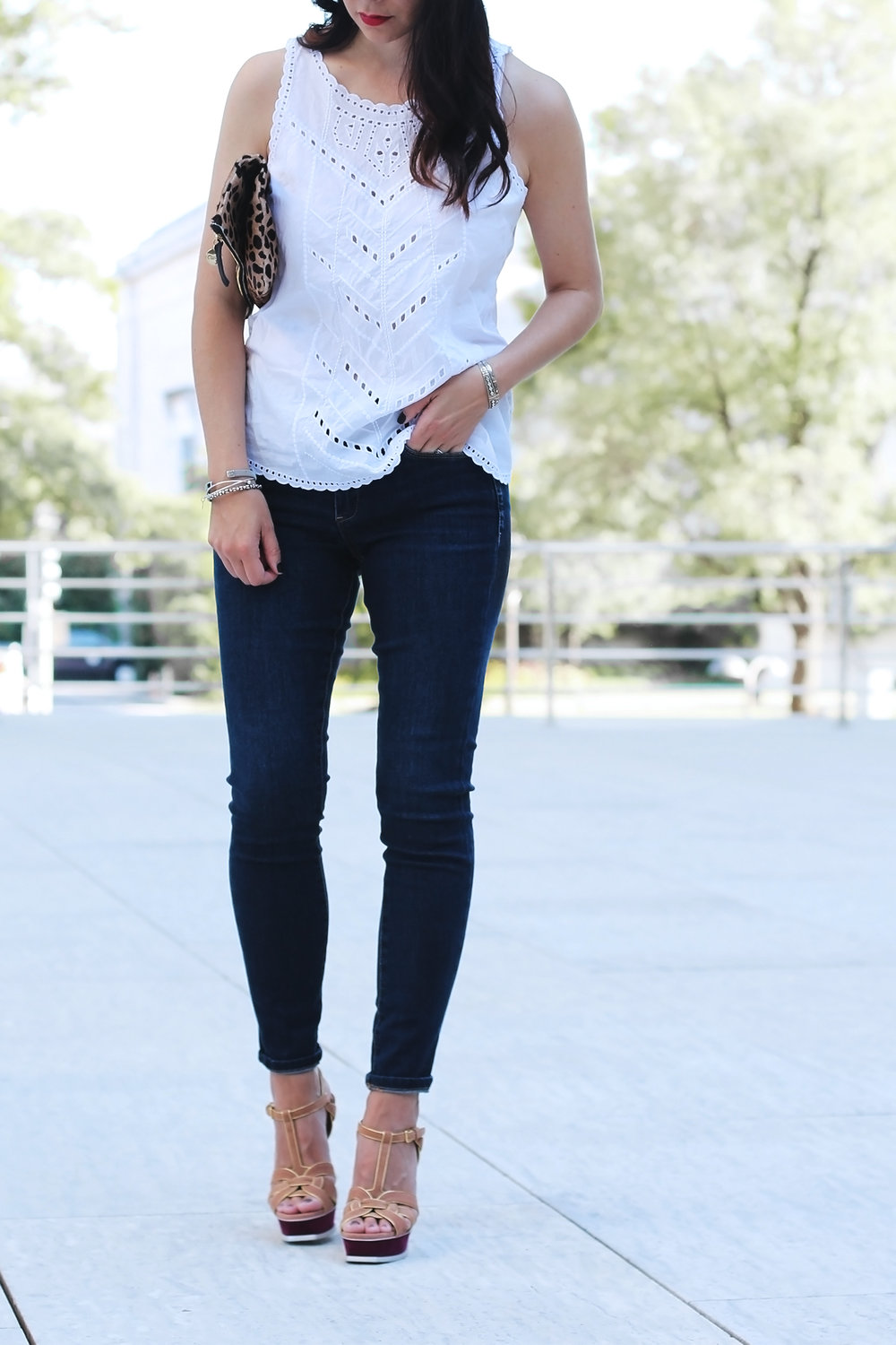 BlankNYC Jeans, Dark Wash Jeans Outfit