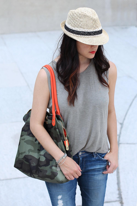 Straw Fedora Hat for Women