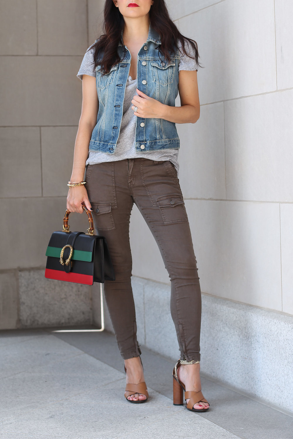 Olive Green Pants Outfit