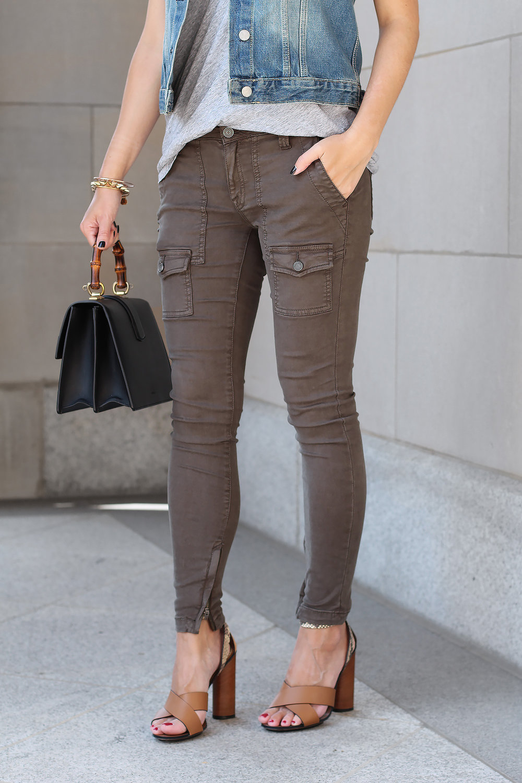 Skinny Pants, Skinny Cargo Jeans