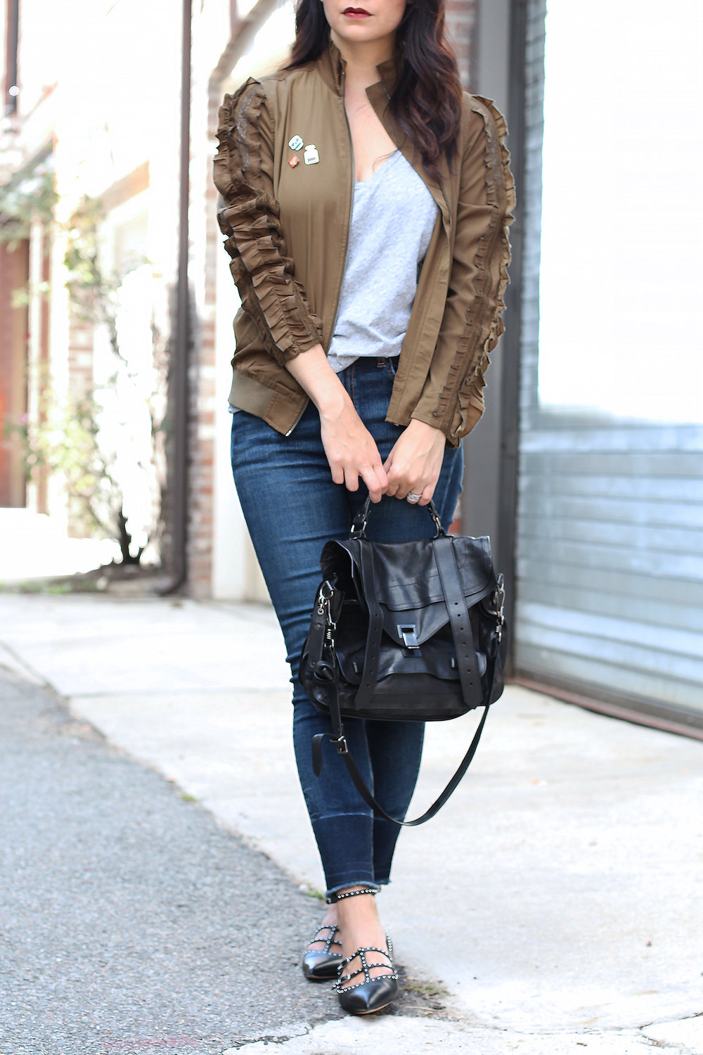 Skinny Jeans Outfit for Fall
