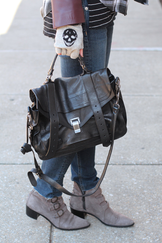 PS1 Bag, Fingerless Gloves