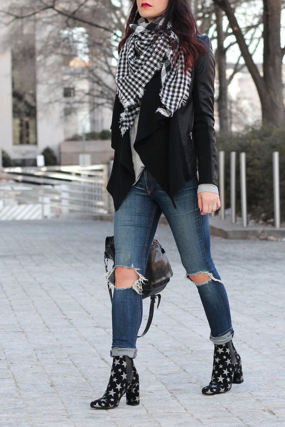 Distressed Jean Outfit