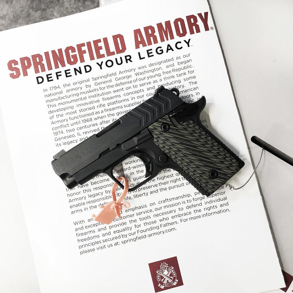 Springfield Armory 911 .380 ACP