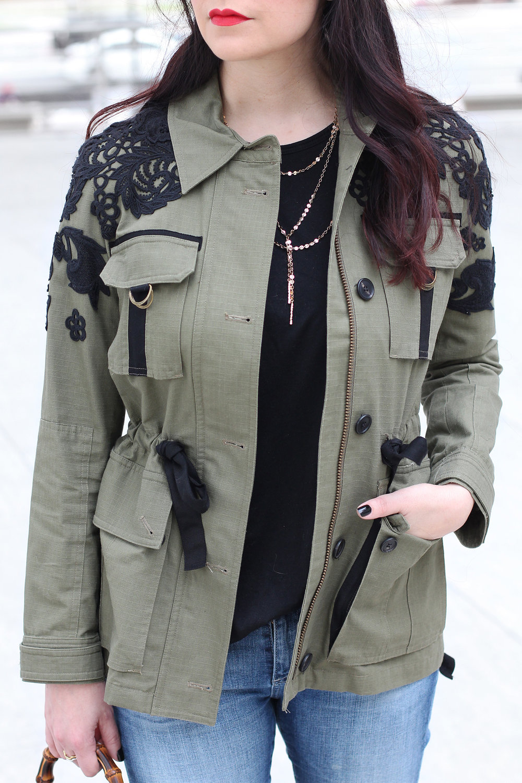 Veronica Beard Utility Jacket