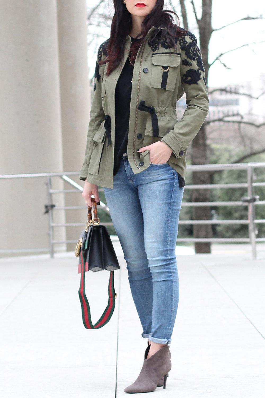 Veronica Beard Military Jacket