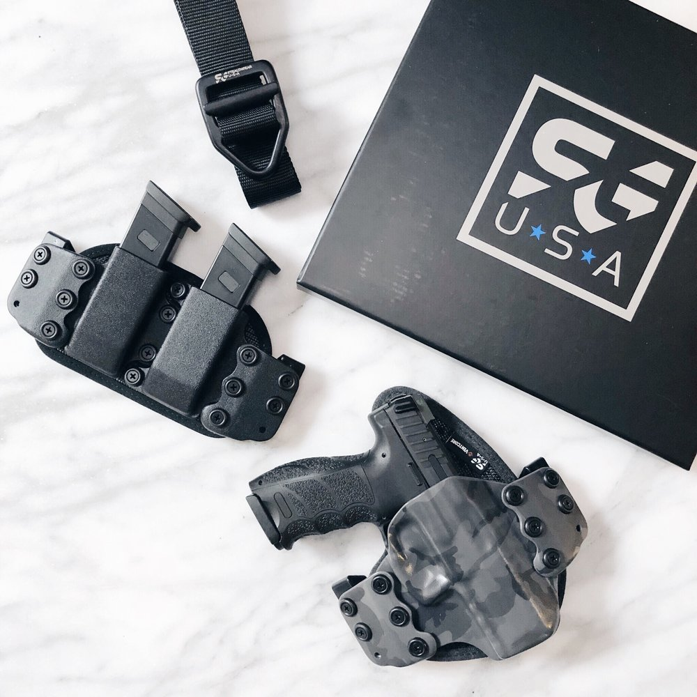 StealthGearUSA OWB Holster, Mag Carrier, EDC Belt