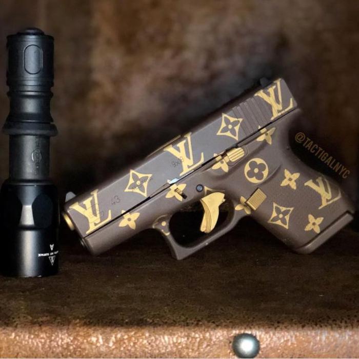Louis Vuitton Gun, LV Monogram Gun Glock 43