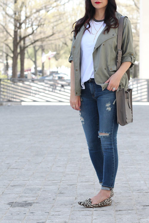 Tarte Matte Lipstick Cheerleader, Cute Distressed Jeans Outfit