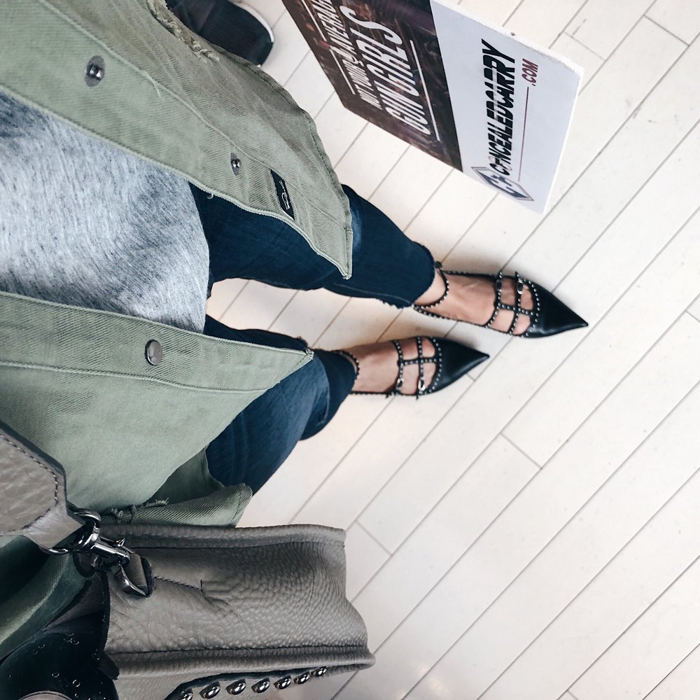 Givenchy Studded Flats