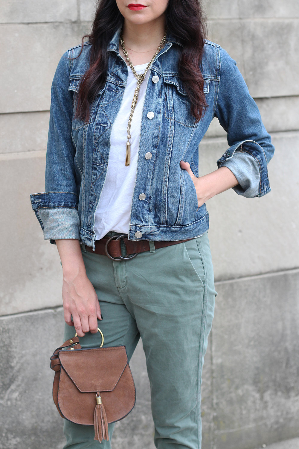 Jean Jacket Outfit Summer