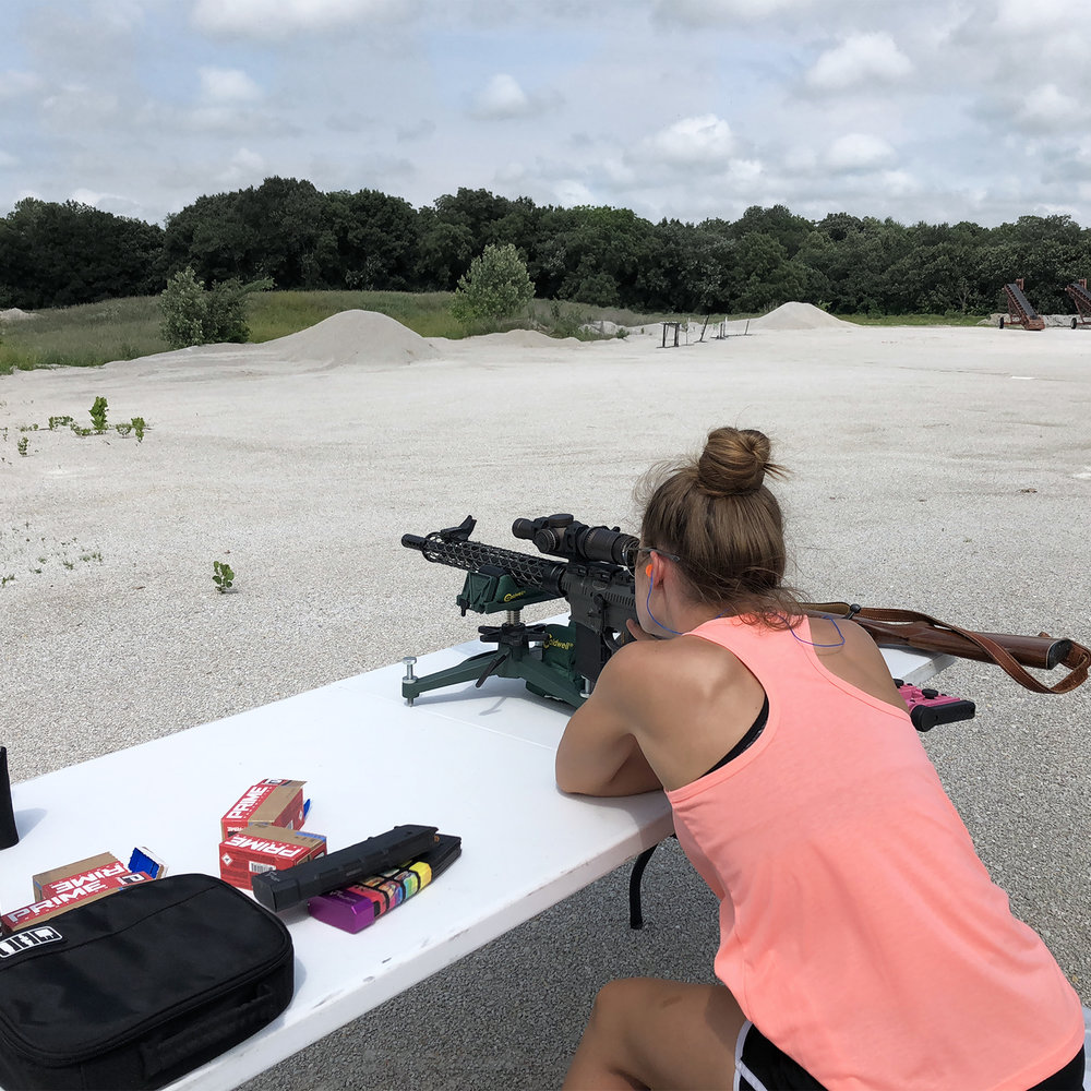 NRA Women, Long Range Shooting, Tannerite, Cheyenne Dalton, Love At First Shot