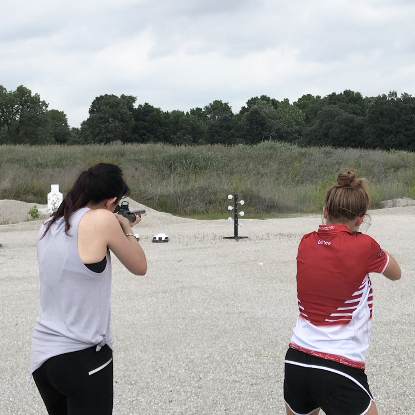 NRA Women, Long Range Shooting, Tannerite, Cheyenne Dalton, Love At First Shot, Alexo Athletica