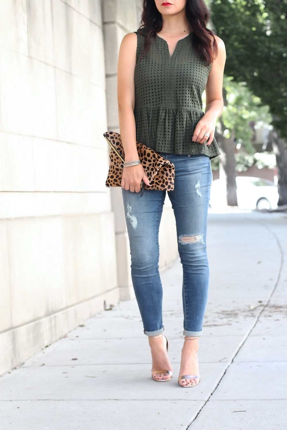 Tips for Wearing Olive Green