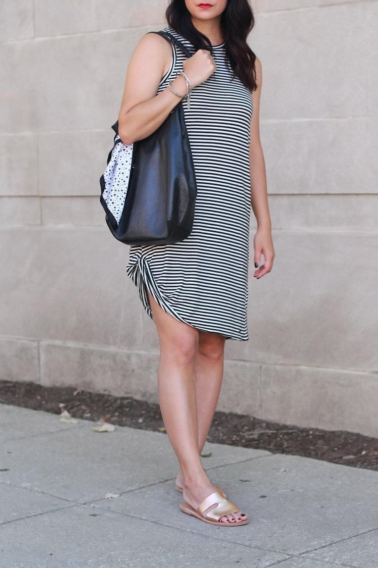 b617cc256e1e nPhilanthropy T-Shirt Dress. The comfiest sandals ever. The comfiest sandals  ever