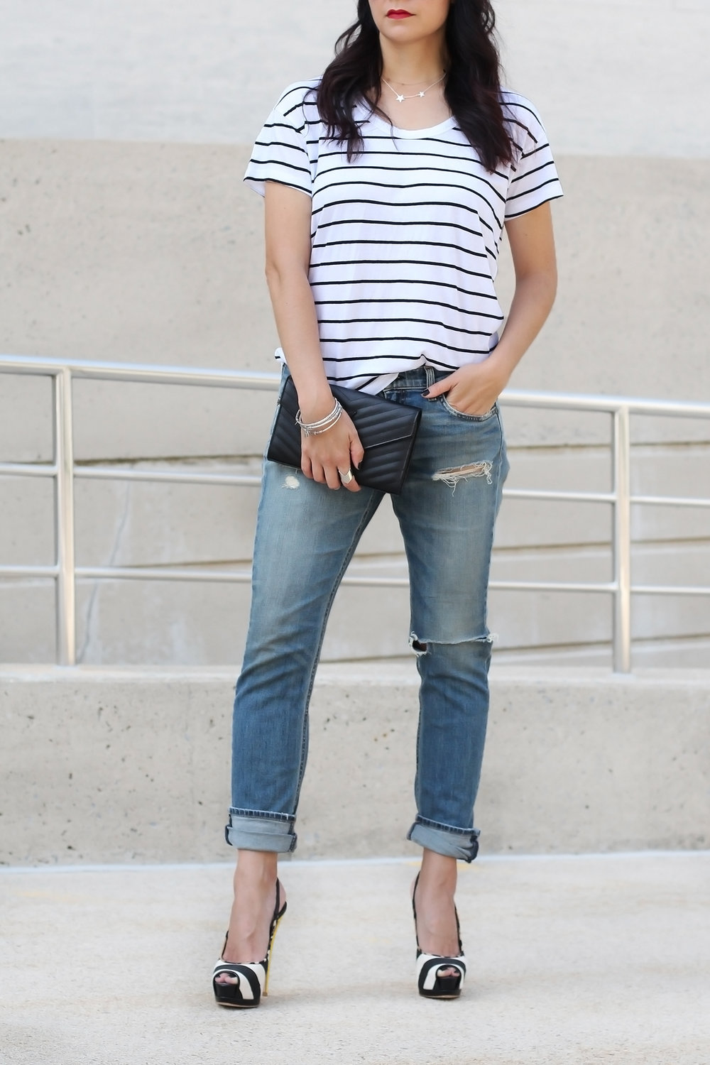 Rag and Bone Boyfriend Jeans