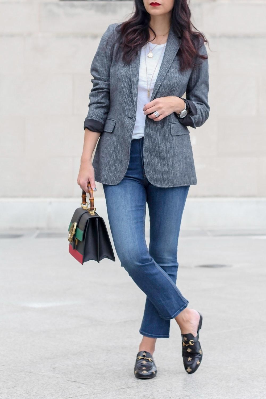 Menswear Inspired Look