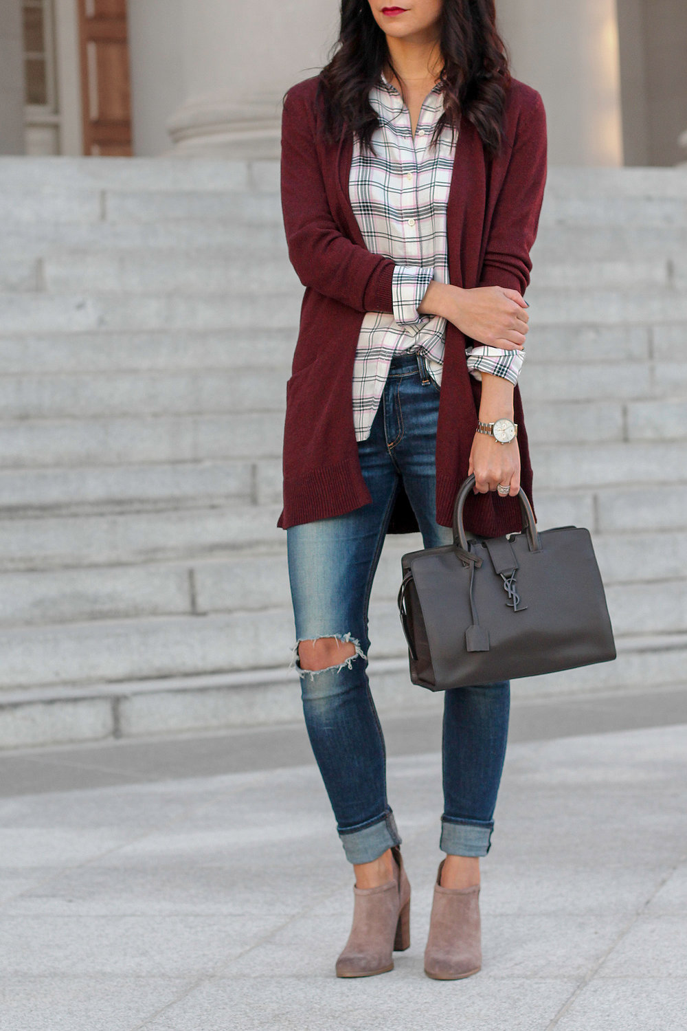 Styling a Cardigan for Fall