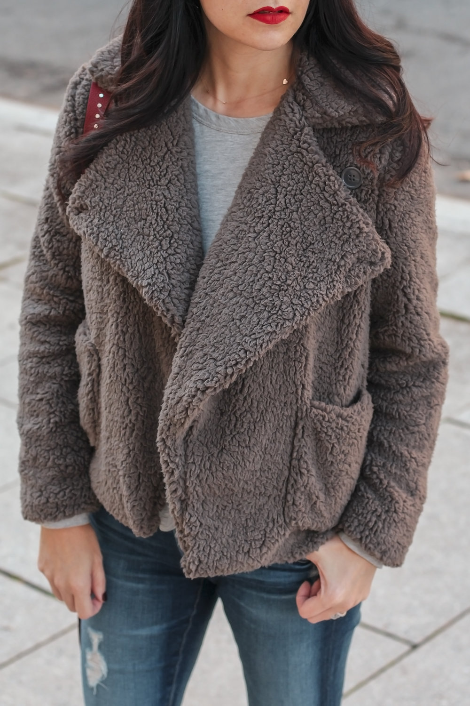 Soft Cozy Coat, Teddy Bear Coat, Teddy Jacket