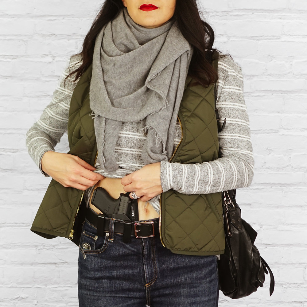 Concealed Carry for Women, Women's Concealed Carry, Concealed Carry Tips, Winter Concealed Carry