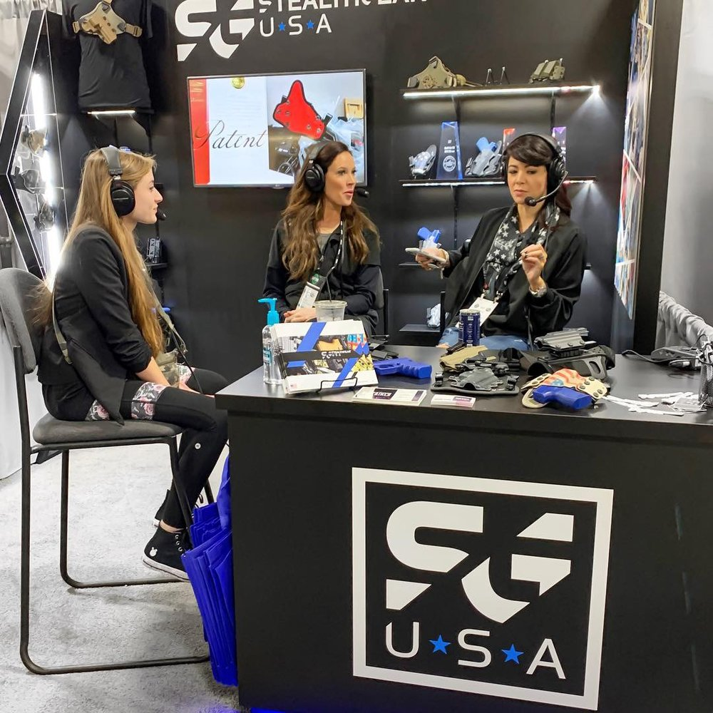 Trinity Merrill, Not Your Average Gun Girls, SteathGearUSA, SHOT Show, Alexo Athletica, Style Me Tactical