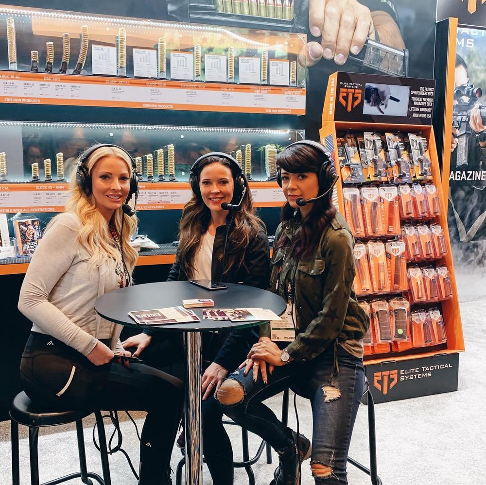 Sarah Jane Rodriguez, Not Your Average Gun Girls, Elite Tactical Systems, SHOT Show, Alexo Athletica, Style Me Tactical