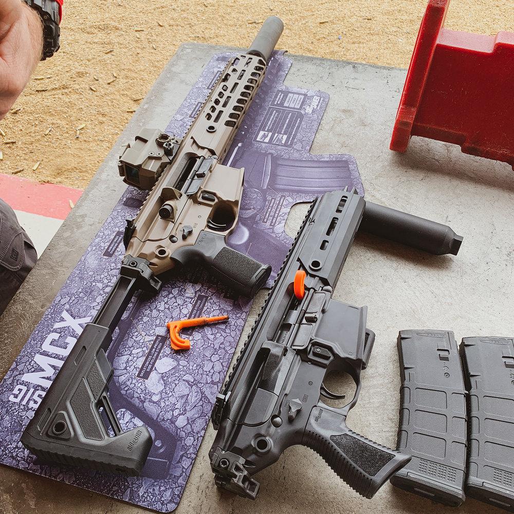 SIG MCX, SIG Rattler, SIG Range Day, SHOT Show