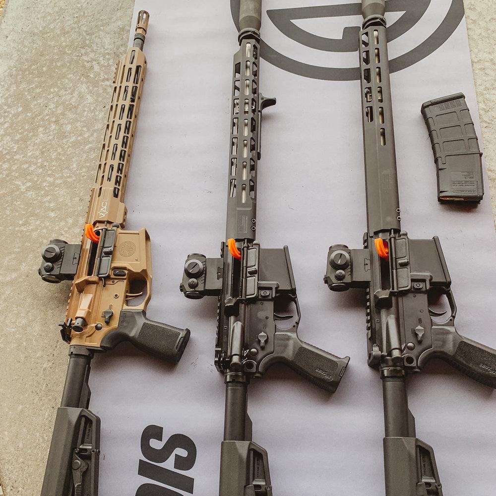 SIGM400, SIG Range Day, SHOT Show