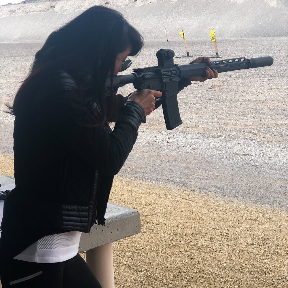 SIG Range Day, SHOT Show, SIGM400 Tread with ROMEO4 sights