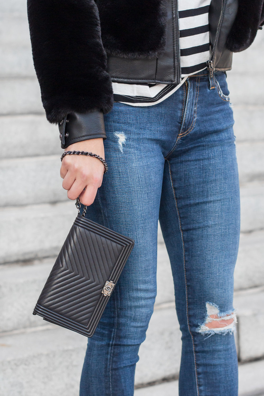 Chanel Wristlet, Chanel Wallet on Chain