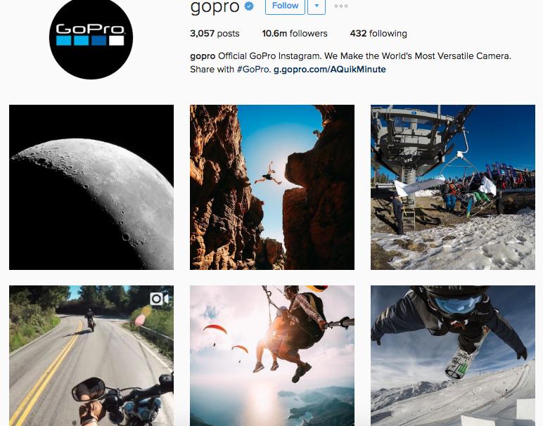 gopro instagram