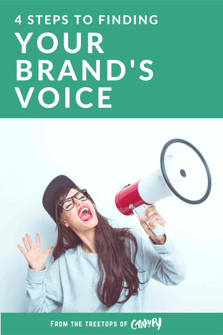 4 steps to finding your brand's voice