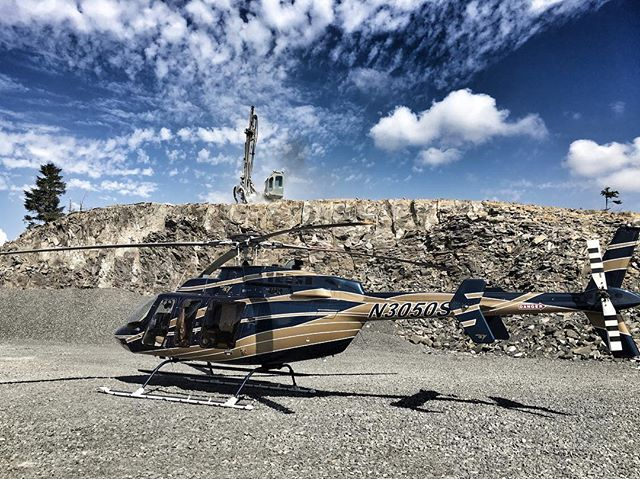 When operations are spread across eight Western states, aviation becomes a critical tool to keep our customers, team, and fleet connected and running smoothly.  Rather than pass on the opportunity to bid a job because there isn't time to get boots on the ground, we are able to look at the project with our customers that same afternoon. . . . . #drillitblastitcrushitrockit #haveablastatwork #bell407 #ARIBlasting #ARIDrilling #rockquarry #rockdrilling #rockblasting #explosives #miningcontractor #drillbit #drilllife #drillers #drill #Drillit #blastholedrilling #blastholes #blasthole #equipment #constructionequipment #miningcontractor #dirtlife #operator #dirtwork #miner #aggregate #aggregate #aviation