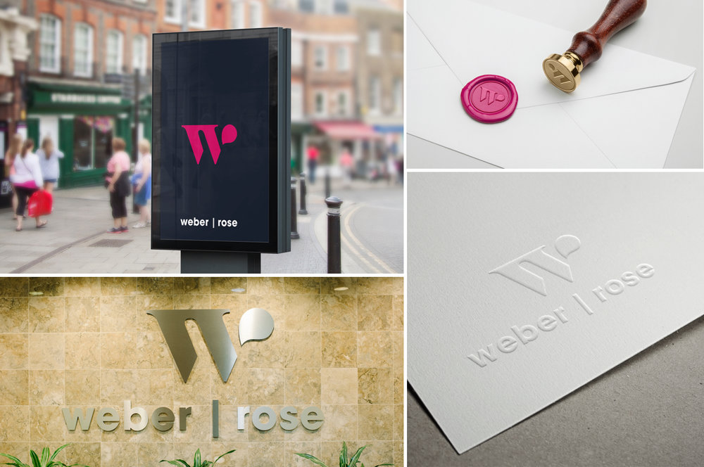 Weber Rose Law Firm Logo Rebrand