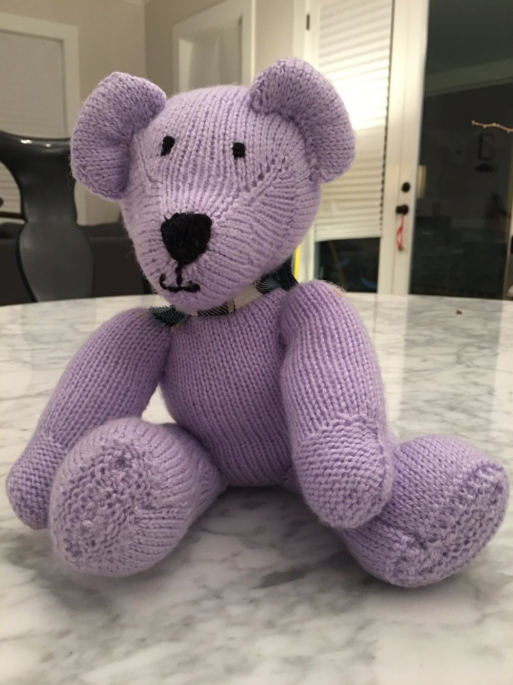 RAFFLE: Knitted TEDDY from Scotland