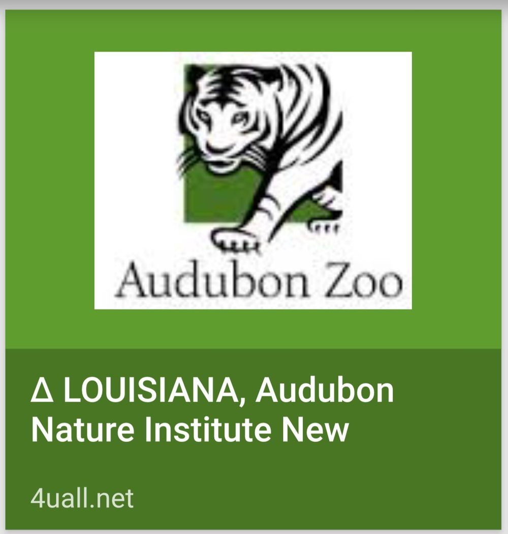 AUCTION: BEHIND SCENES TOUR OF THE ZOO FROM AUDUBON  INSTITUTE