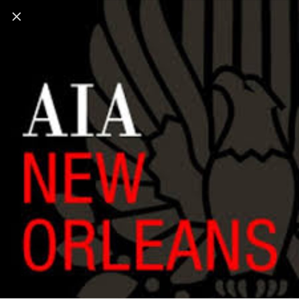 PUBLICITY PARTNER:  AIA NEW ORLEANS CHAPTER  (American Institute of Architects)