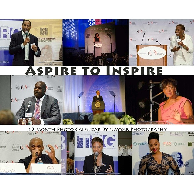 Live to be inspired! This 2015 calendar features photos by Nayyar Photography with inspirational quotes in honor of each person's birth month. Featuring quotes by President Barack and First Lady Michelle Obama, Iyanla Vanzant, Shaquille O' Neal, MC Lyte, DMC and more! Pre Order your copy at www.nayyarphotography.shopify.com #PREORDER #CALENDAR #INSPIRE #INSPIRATION #BIRTHDAY #HISTORY #QUOTES