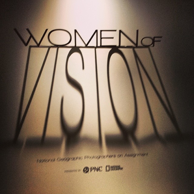 #womenofvision #photography #exhibit #nationalgeographic #women #power #fotodc #studying #inspiration #photographers (at National Geographic Museum)