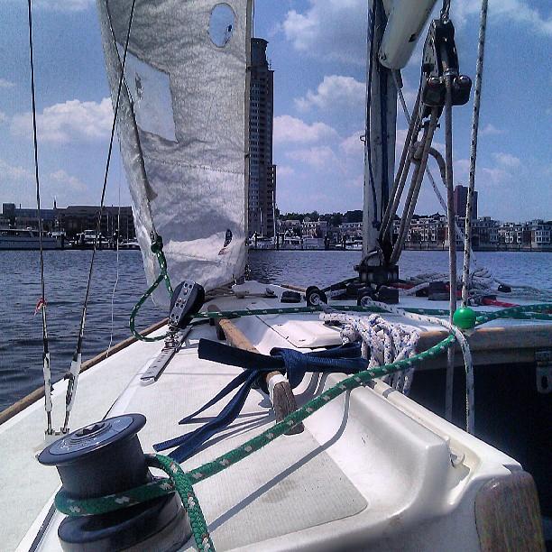 #sailing #fieldtrip #onthe harbor #baltimore