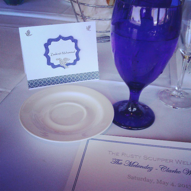 Congrats to the newlyweds! I feel special! :) #wedding #videography #videographer #baltimore #rustyscupper