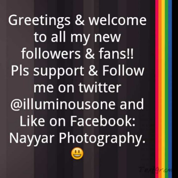 Greetings! Welcome! And Thank You! #Followers :)
