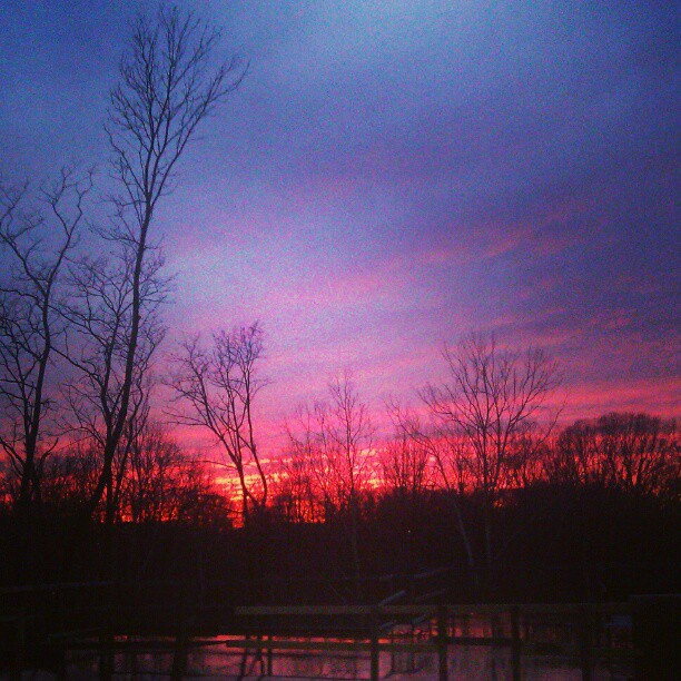 Wow!! #beautiful #sunset in #Maryland