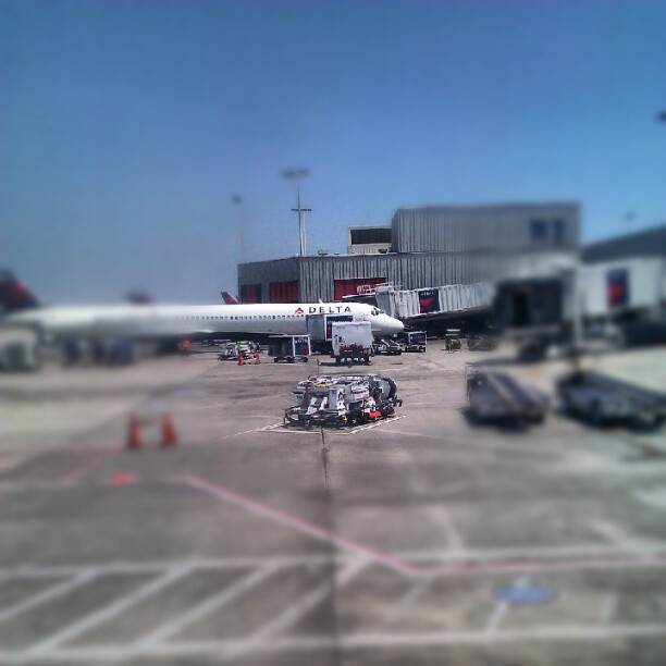 On the runway again! (Taken with  Instagram )