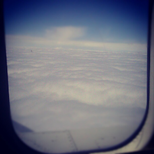 A belated photo #upintheair (Taken with instagram)
